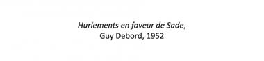 Donatien Alphonse François de Sade au cinéma [Chrono]