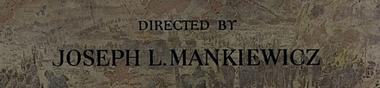 All about Joseph L. Mankiewicz [Top]